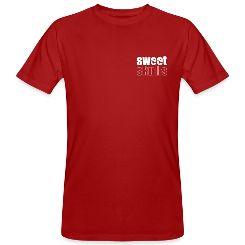 logo_white - Männer Bio-T-Shirt