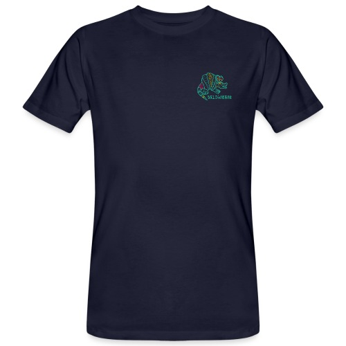 Alebrije Armadillo Turquise - Männer Bio-T-Shirt