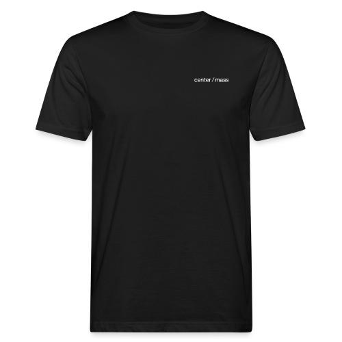 center ⁄ mass - Men's Organic T-Shirt