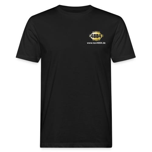 Logo vorn und hinten hell - Männer Bio-T-Shirt