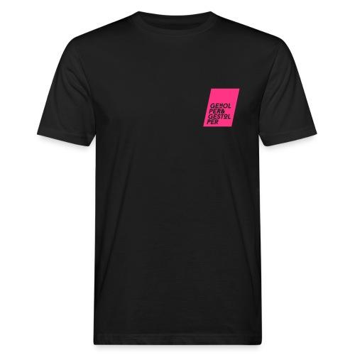 Geholper Gestolper Logo - Männer Bio-T-Shirt
