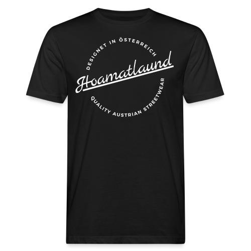 logorund - Männer Bio-T-Shirt