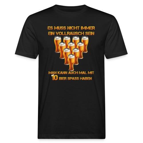 spass mit bier - Männer Bio-T-Shirt
