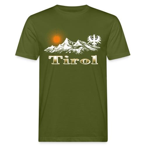 Tiroler Berge - Männer Bio-T-Shirt