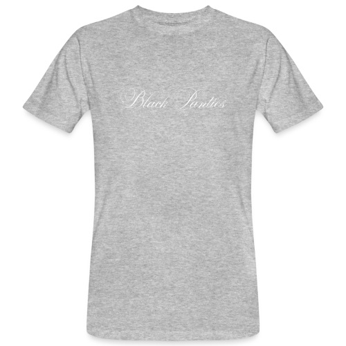 black panties - T-shirt bio Homme