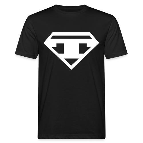 Twanneman logo - Mannen Bio-T-shirt