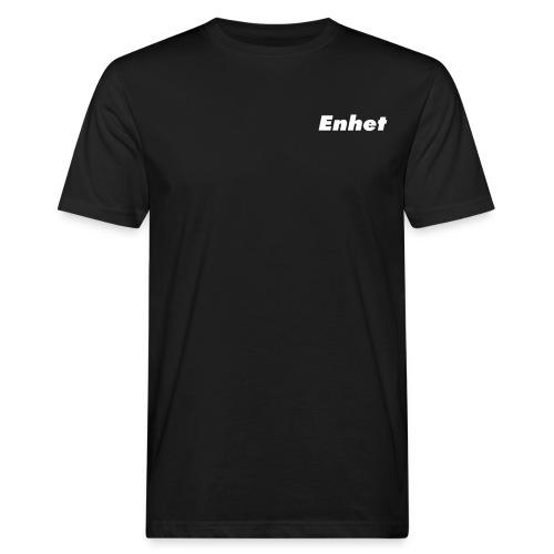 enhettext green - Ekologisk T-shirt herr