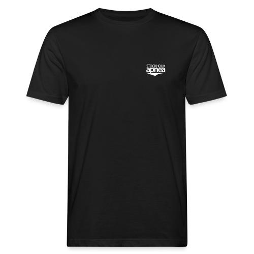 Stockholm Apnea (White) - Ekologisk T-shirt herr