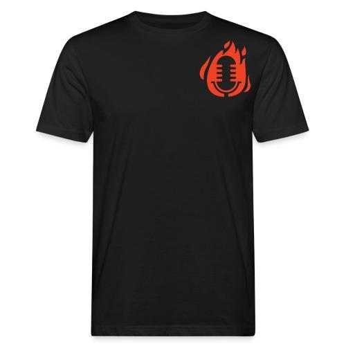 Fire Mikro Design - Männer Bio-T-Shirt