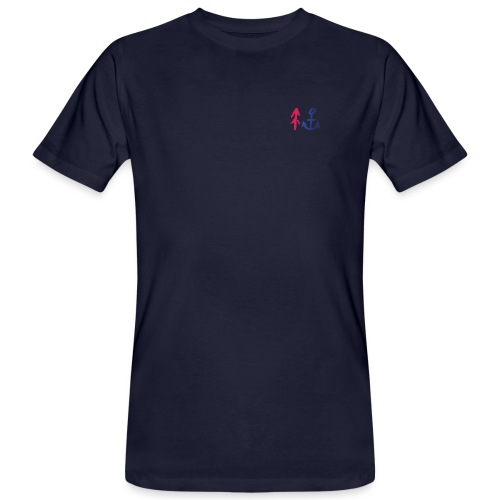 Red to Blue - Männer Bio-T-Shirt