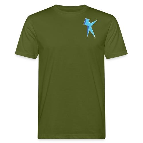 K Vlogs Logo - Mannen Bio-T-shirt