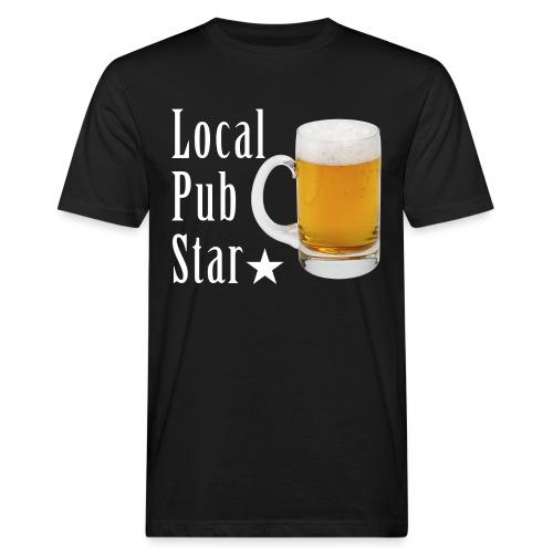 Lokalna gwiazda pubu - Ekologiczna koszulka męska