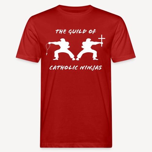 THE GUILD OF CATHOLIC NINJAS - Men's Organic T-Shirt
