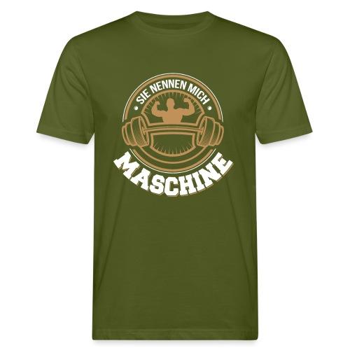 Sie nennen mich Maschine - Männer Bio-T-Shirt