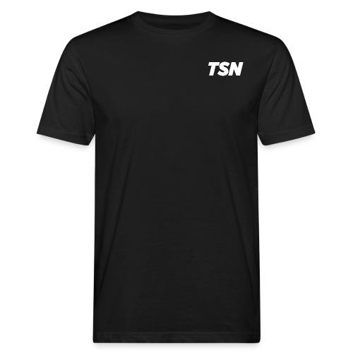 TSN Vector | White - T-shirt ecologica da uomo