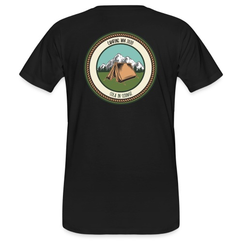 Sola 20 Camping WM - Männer Bio-T-Shirt