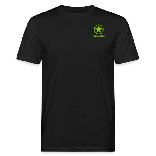 GameStar Logo hochkant - Männer Bio-T-Shirt