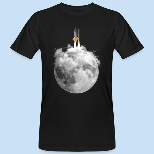 Mondrakete - Männer Bio-T-Shirt