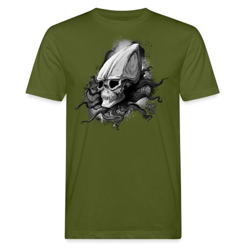 Alien BONE SQL B / W - Men's Organic T-Shirt