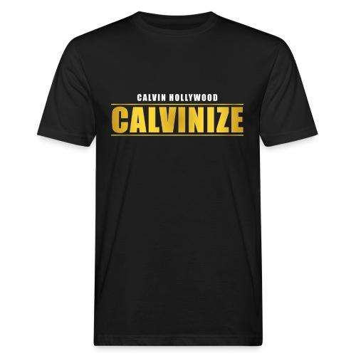 Calvinize - Männer Bio-T-Shirt