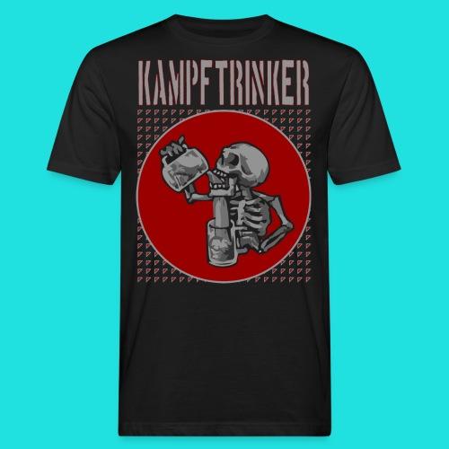 Kampftrinker - Männer Bio-T-Shirt