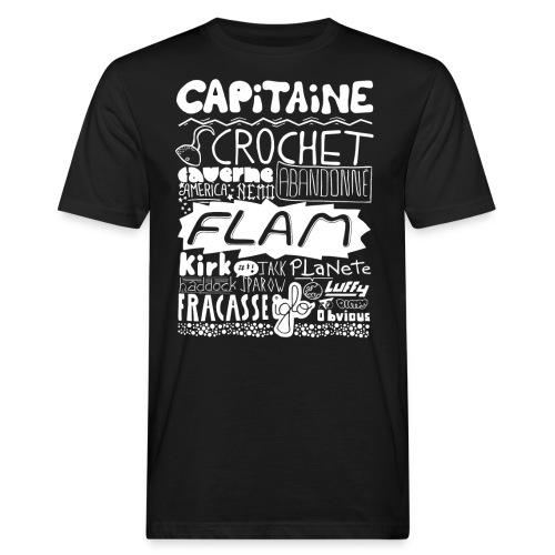 capitaine-blanc Tee shirts - T-shirt bio Homme