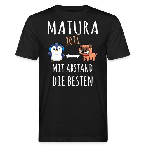 MBA Matura 2021 Hund Pinguin Shirt Geschenk - Männer Bio-T-Shirt