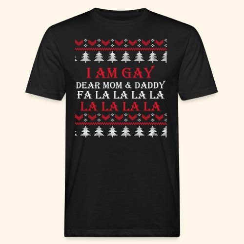 Gay Christmas sweater - Ekologiczna koszulka męska