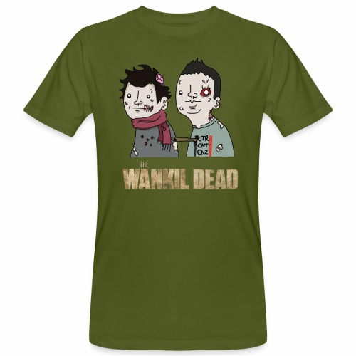 The Wankil Dead - T-shirt bio Homme
