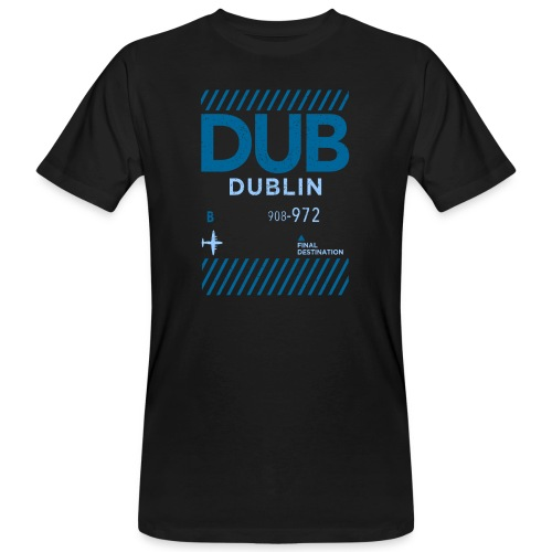Dublin Ireland Travel - Men's Organic T-Shirt