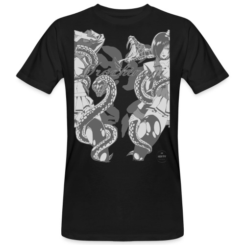 Bliss Yagami Grey - T-shirt bio Homme