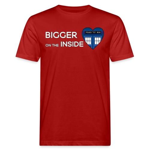 Tardis Heart - Men's Organic T-Shirt