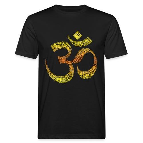 Ohm Psytrance - Männer Bio-T-Shirt