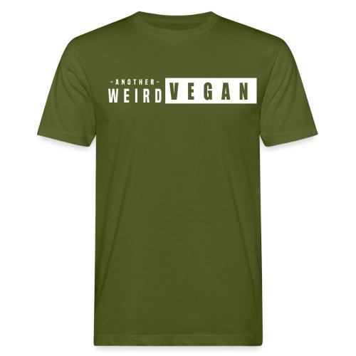 another weird vegan print white - Men's Organic T-Shirt