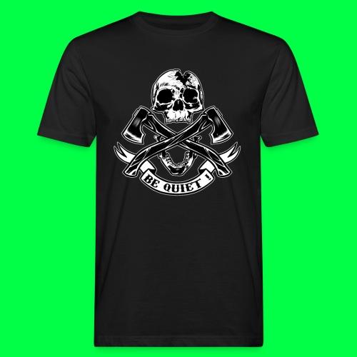 BE QUIET - T-shirt bio Homme