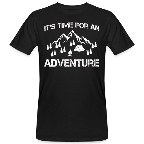 It's time for an adventure - Men's Organic T-Shirt