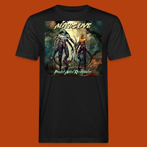 aliens live - T-shirt bio Homme
