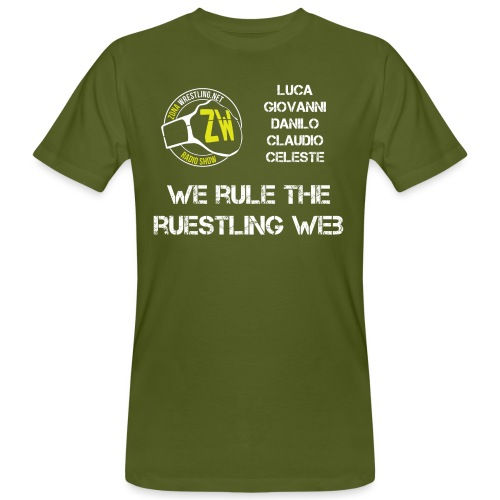 We Rule The Ruestling Web - T-shirt ecologica da uomo