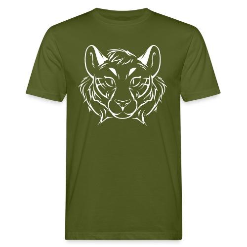 Tigris Picture Logo White - Men's Organic T-Shirt