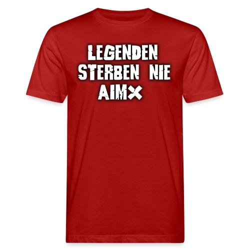 Legenden sterben nie - Männer Bio-T-Shirt