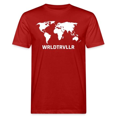 Worldtraveller - Männer Bio-T-Shirt