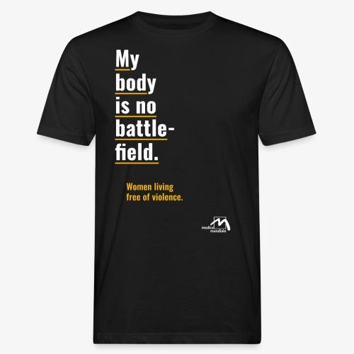 medica mondiale e.V. - Kampagne englisch - Männer Bio-T-Shirt