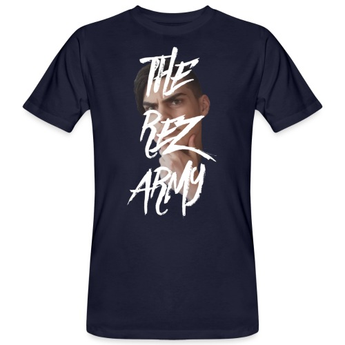 RezTv Army - Miesten luonnonmukainen t-paita