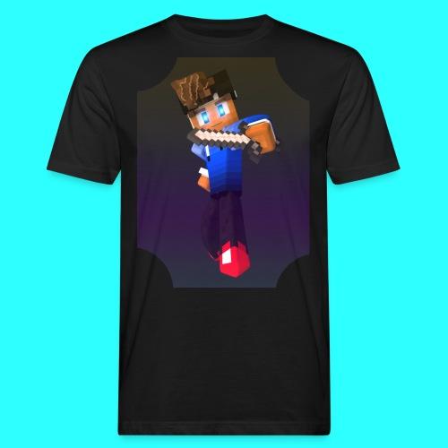 Mit Skin - Männer Bio-T-Shirt