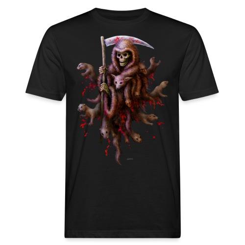 Death loves Fur - Männer Bio-T-Shirt