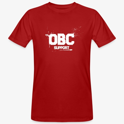OBCSPP Weiss - Männer Bio-T-Shirt