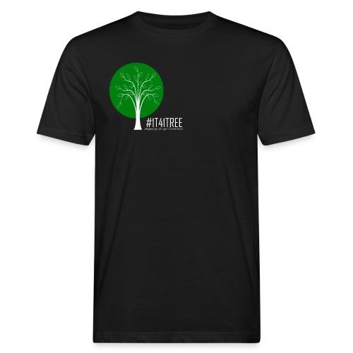 1T41Tree - ein verk. Shirt = ein Baum - Männer Bio-T-Shirt
