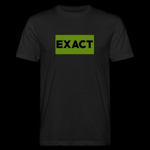 Exact Classic Green Logo - Men's Organic T-Shirt