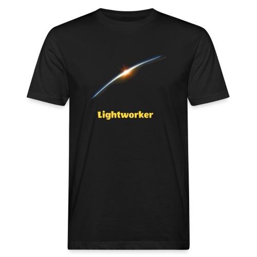Lightworker-Earth - Männer Bio-T-Shirt