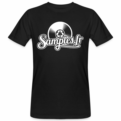 Samples.fr noir - T-shirt bio Homme